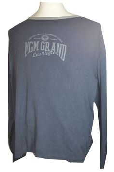 #MGM #Grand #LasVegas #Thermal #LongSleeve #Winter #Warm #shirt #Hotel Casino for #auction #cheap in my ebay store