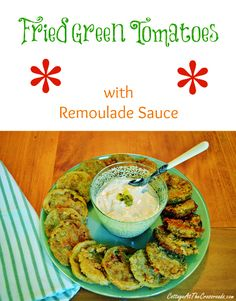 Put the flavor of the South in your Mouth with these fried green tomatoes!