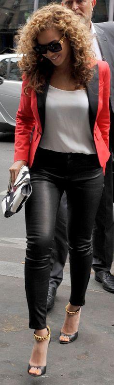 Beyonce | Celebrities in J Brand