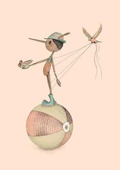 PINOCCHIO BY GABRIELLA BAROUCH