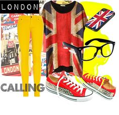"#socialoutfit #futurosemplice ""London Calling"" by rosagiuffre on Polyvore"