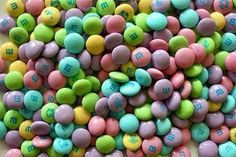 Easter is the prettiest time for m&ms