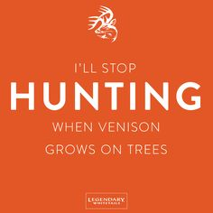 Actually... I'll never stop hunting. :)  #CelebrateTheHunt