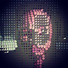 my new face #willpowerarts #willpowerstudios #generative #processing #interactiondesign  by WILLPOWER STUDIOS   WILLIAM ISMAEL   www.WillpowerStudios.com
