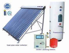 split pressurized solar water heater 500 liters refurbished with a 10 year warranty Solar Energy Panels, Best Solar Panels, Solar Roof Tiles, Solar Water Heater, Passive Solar, Solar House, Solar Power System, Roofing Systems, Energy Harvesting