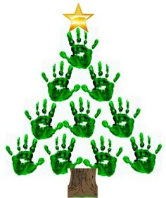 25 Easy Christmas Craft Ideas For Kids - Thrillbites Résultats de recherche d'images pour « bricolage noel facile Handprint Christmas Tree, Preschool Christmas, Easy Christmas Crafts, Christmas Activities, Simple Christmas, Christmas Art, Christmas Projects, Christmas Decorations, Christmas Ornaments