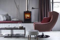 Ashfield Collection by Ian Mankin. Gorgeous reversible wool fabrics.