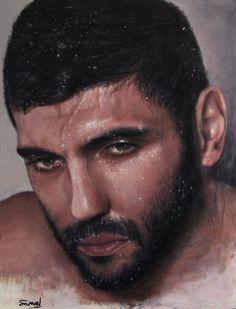 Original oil painting - Self portrait