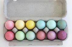 Post image for Natural Egg Dyes