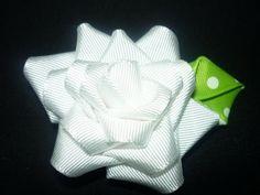 Manualidades y accesorios la hormiga. como hacer un nuevo diseño de   flor en cinta. video No.049