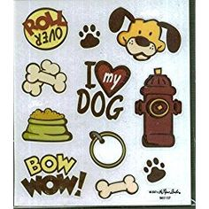 Dog Icon Stickers - 2 Sheets