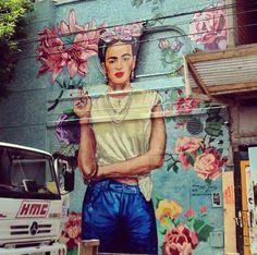Street art, Argentina, Fridísima.