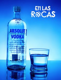 #Alcohol #EnLasRocas #Vodka #Absolut