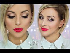 ❄❄ Makijaż Świąteczny Last Minute ❄❄ Zmalowana - YouTube