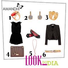 Look do Dia - Clássico Moderno | Amandhí | www.amandhi.com