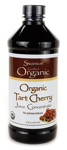 Organic Tart Cherry Juice Concentrate - Relieve stress and get a better nights sleep.