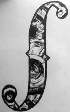 f hole tattoo