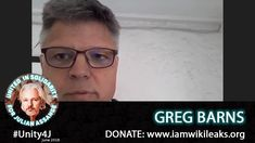 Australian lawyer Greg Barns spoke out in support of Julian Assange and Wikileaks on the online vigil