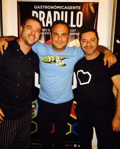 Nuestro gran amigo Ángel León también es muy pero que muy gastronómico... gracias!!!