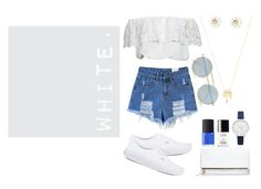 """White Festival"" by beautifulojn ❤ liked on Polyvore"