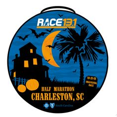 2015 Race 13.1 Charleston, SC Half Marathon Finisher Medal
