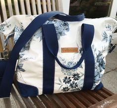 overnightbag sewn in oilcloth - for beginners Übernachtungstasche  - Schnittmuster für Wachstuch, Leder oder Stoff