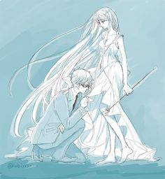 Bishamon and Kazuma
