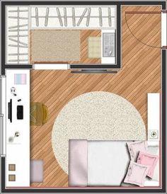 34 Trendy Ideas For Closet Feminino Solteiro Girls Bedroom, Master Bedroom Closet, Living Room Bedroom, Home Bedroom, Bedroom Decor, Ikea Closet Shelves, Closet Storage Bins, Closet Built Ins, Small Closet Design