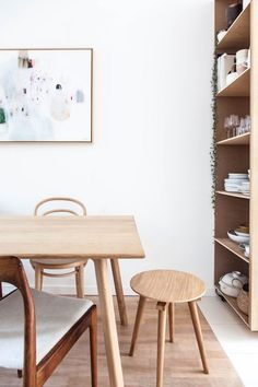 my scandinavian home: The calm, natural kitchen