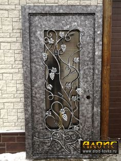 Grill Door Design, Door Gate Design, Main Door Design, Metal Gates, Wrought Iron Doors, Stainless Steel Gate, Iron Garden Gates, Metal Workshop, Iron Art