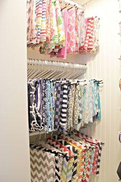 diy fabric organizer