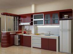 8 Ide Desain Kitchen Set Custom Dapur Dapur Modern Lantai Dapur