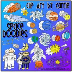 Space Doodles Combo