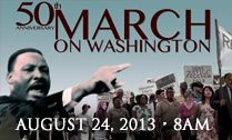 """Join us on August 24 to march for justice and peace on MLK """"I Have a Dream"""" 50th Anniversary http://events.r20.constantcontact.com/register/event?oeidk=a07e7pf1zl0f5d9d7b6=nreqd8cab"""