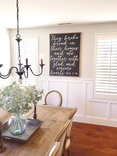 They Broke Bread Wood Framed Sign Scripture Sign Christian Sign Farmhouse Decor Acts 2 46 Dining Room Sign Farmhouse Sign Farmhouse Dining Room Acts Bread Broke Christian decor Dining Farmhouse Framed Room Scripture sign wood Dining Room Wall Decor, Dining Room Design, Kitchen Decor, Dining Room Wainscoting, Kitchen Design, Dining Room Decorating, Kitchen Ideas, Diningroom Decor, Kitchen Upgrades