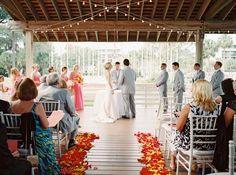 Lindsey + Zach's Sonesta Resort Hilton Head Island wedding by Landon Jacob Productions