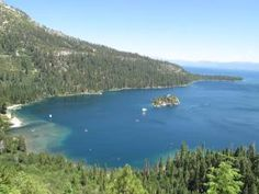 Lake Tahoe was just amazing. Emerald Lake, South Lake Tahoe, California Usa, Just Amazing, Camping, River, Mountains, Places, Outdoor