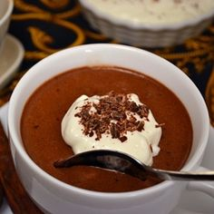 Pumpkin Chocolate Mousse