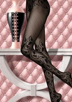 Fashion Tights, Cozy Fashion, Steampunk Fashion, Gothic Fashion, Silk Stockings, Stockings Lingerie, Lady Stockings, Lingerie Fine, Luxury Lingerie