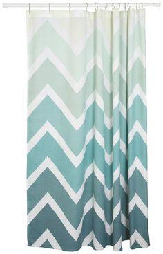 Danica Studio Unisex Chevron Shower Curtain Multi Shower Curtain
