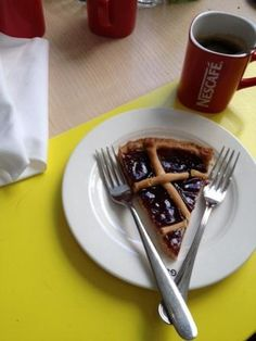 """Crostata at the """"God Save the Food"""" in Milan"""
