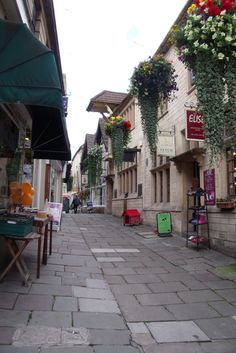 Shopping street in Bradford On Avon (inspiration for Pendleford). Bradford On Avon, Shopping Street, Street View, Language, Magic, City, Garden, Inspiration, Beautiful