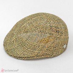 Παραδοσιακό ανδρικό ψάθινο καπέλο τραγιάσκα
