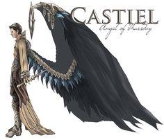 Tags: deviantART, Supernatural, Castiel, Zeynep