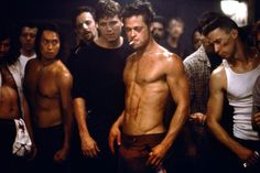 Brad Pitt in Fightclub