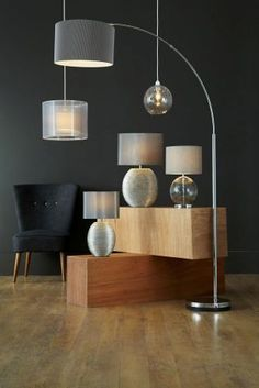 Buy Large Curve Arm Floor Lamp From The Next Uk Online