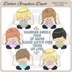 Prayer Angels - Clip Art - *DGD Exclusive* - $1.00 : Dollar Graphics Depot, Quality Graphics ~ Discount Prices