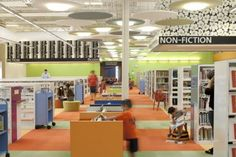 Abandoned Wal-Mart Transformed Into A Functioning Library