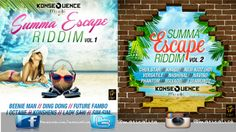Summa Escape Full Mix (Konsequence Muzik) July 2015 - http://djkaas.com/dancehall-reggae-music/summa-escape-full-mix-konsequence-muzik-july-2015/