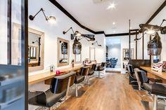Rénovation totale Salon Coiffure. Paris. Un Espace Atypique, tout ...